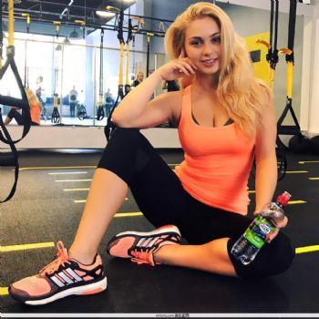Katarina Pudar- 来自莫斯科的波黑美女播音员图片