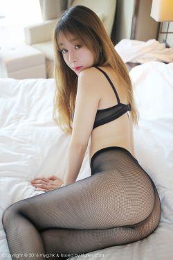 [美媛馆MyGirl] Vol.208 @王雨纯-黑丝网袜翘臀系列