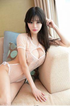 新人模特唐思琪 透视内衣胸涌诱惑图片