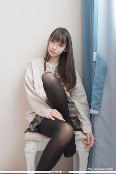 【妹子图】森萝财团X-05清纯美女黑丝全