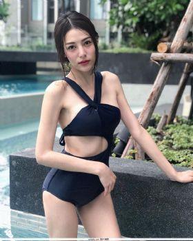 泰国正妹MONATCHA,甜美好身材狂吸50万粉丝