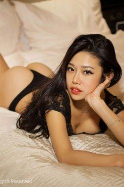 luvian本能《猫咪装+黑色兔女郎+透视蕾丝》 [秀人网XiuRen] No.105