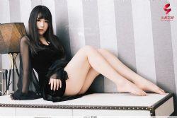 [TouTiao头条女神] Y17.6.23 黑与白的纯净女孩