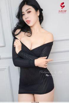 [TouTiao头条女神] 蜜丝系列008 一组宫廷马甲复古风 语溪