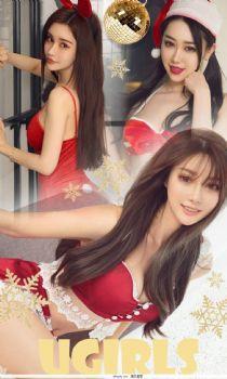 纯小希&夏雨霏&奶茶Emily 圣诞节红色的祝福图片