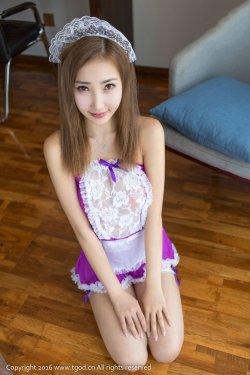 尤美Yumi《女仆、兔女郎、猫耳、丝袜、睡衣多种情趣装》 [推女神/尤蜜荟]